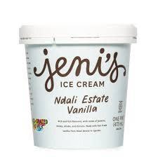 Jeni's Vanilla Bean Ndali Estate Ice Cream Pint, Ohio