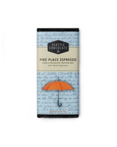 Seattle Chocolate Pike Place Espresso Dark Chocolate Truffle Bar