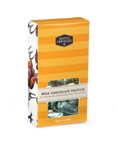 Seattle Chocolate Milk Chocolate Truffles 4 oz. box
