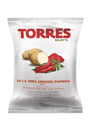 Torres De La Vera Smoked Paprika Potato Chips