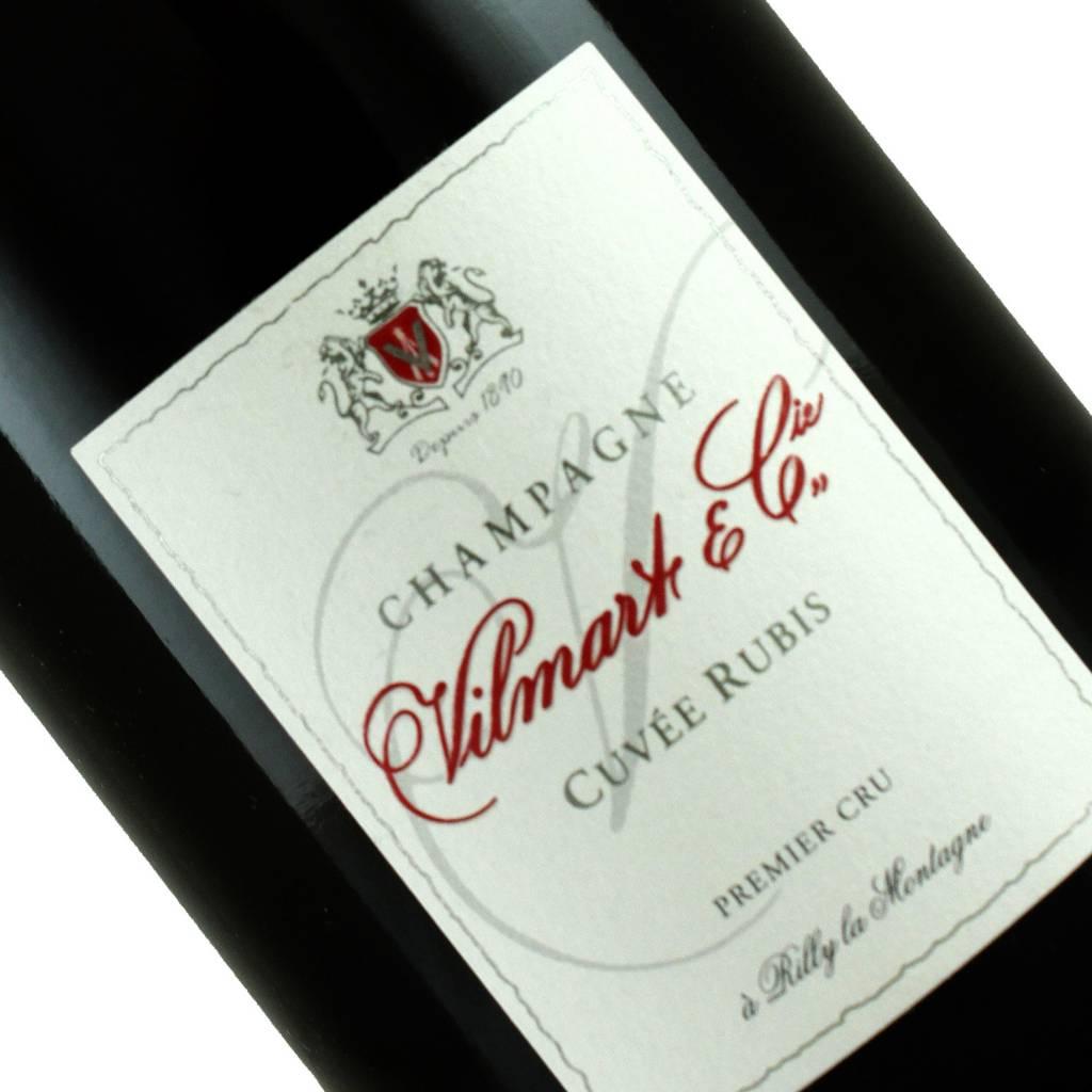 Vilmart & Cie N.V. Cuvee Rubis Brut Rose, Champagne Premier Cru, Rilly la Montagne