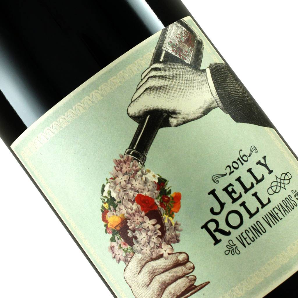 Jelly Roll 2016 Vecino Vineyards Syrah, Potter Valley, Mendocino County