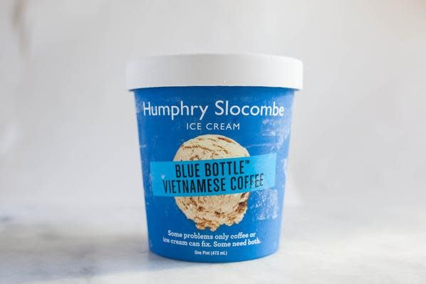 "Humphry Slocombe ""Blue Bottle Vietnamese Coffee"" Ice Cream, San Francisco"