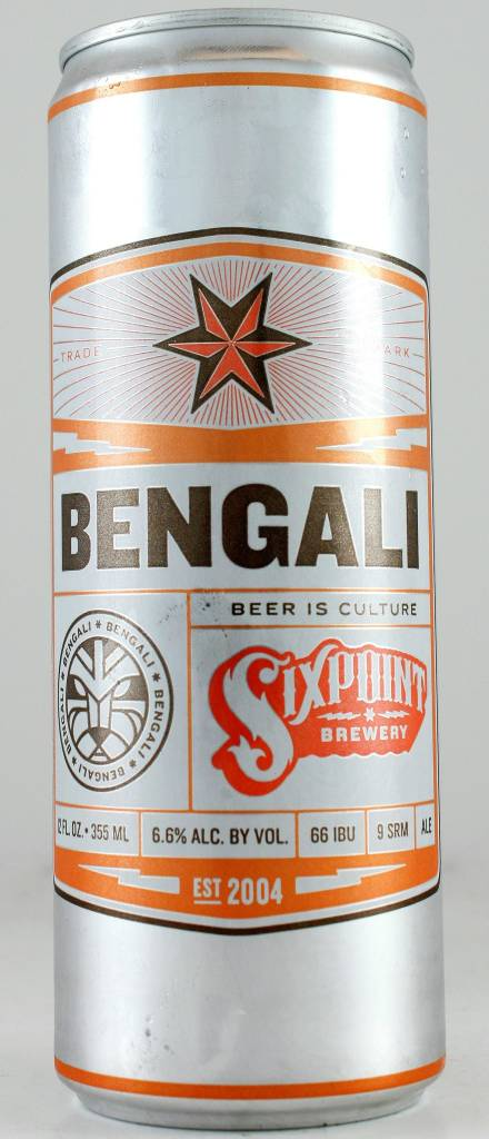 "Sixpoint ""Bengali"" IPA, New York - 12oz can"