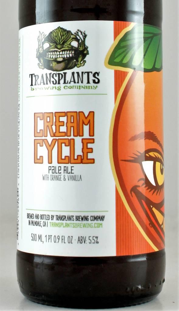 "Transplants ""Cream Cycle"" Orange Vanilla Pale"