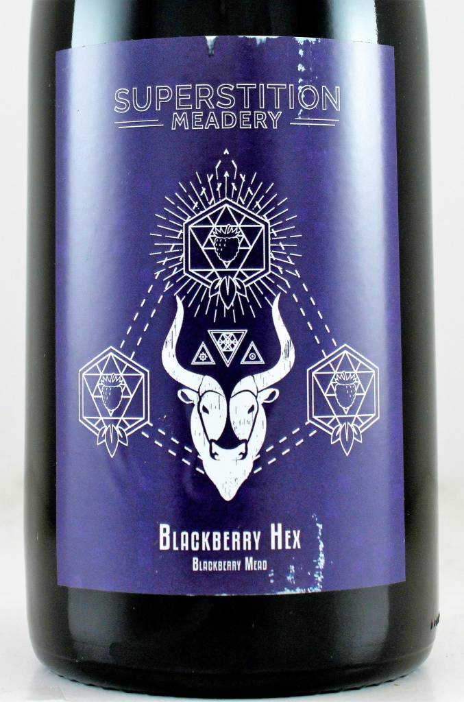 "Superstition Meadery ""Blackberry Hex"""