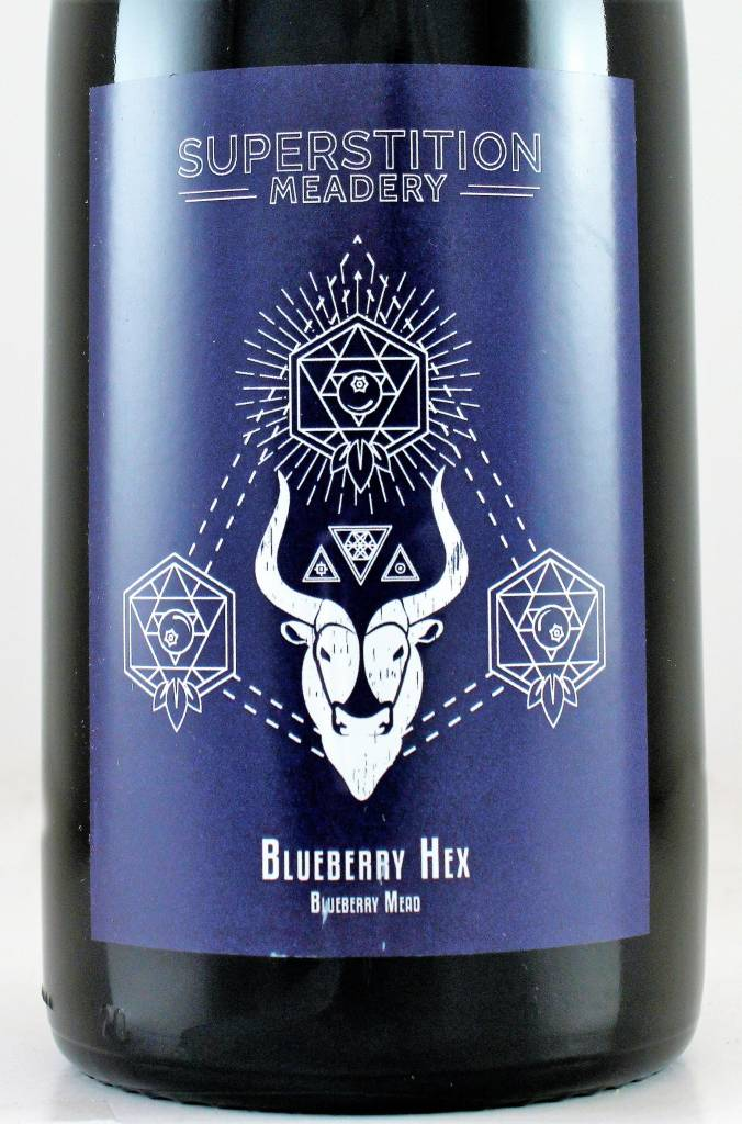 """Superstition Meadery """"Blueberry Hex"""""""