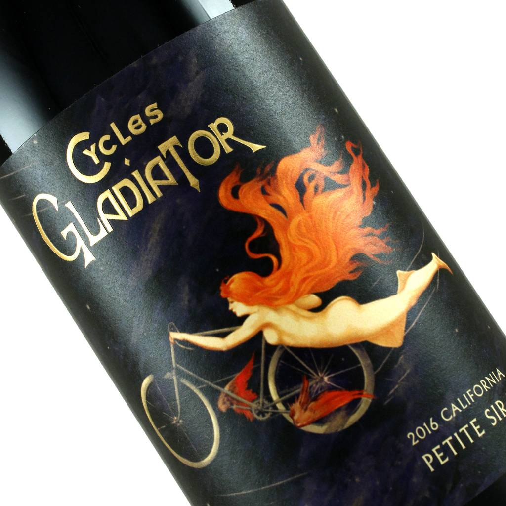 Cycles Gladiator 2016 Petite Sirah Central Coast, California