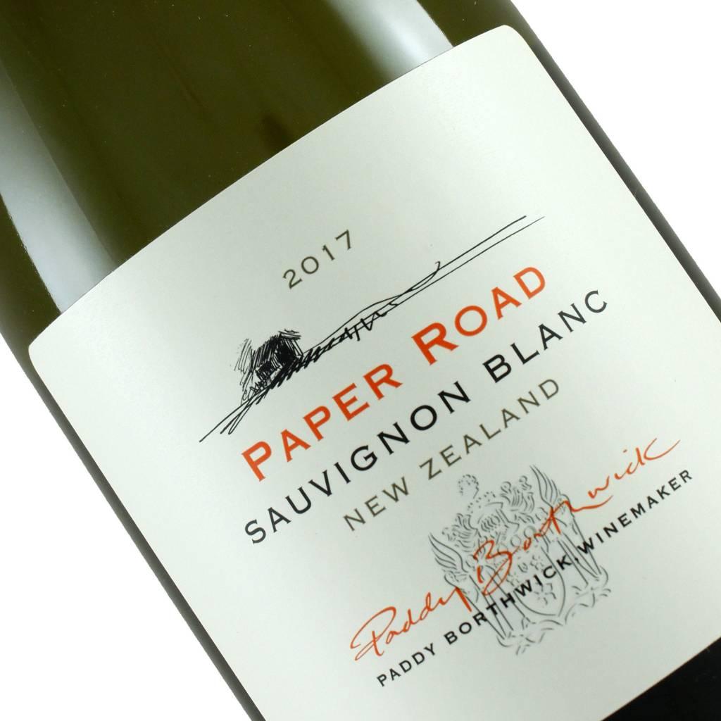 "Paddy Borthwick 2017 Sauvignon Blanc ""Paper Road"", New Zealand"