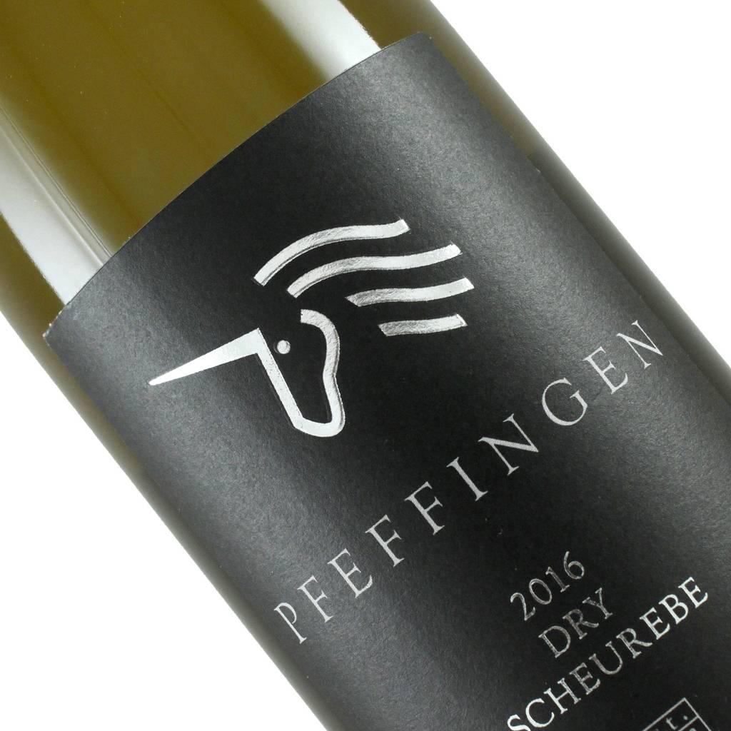 Pfeffingen 2016 Dry Scheurebe, Pfalz