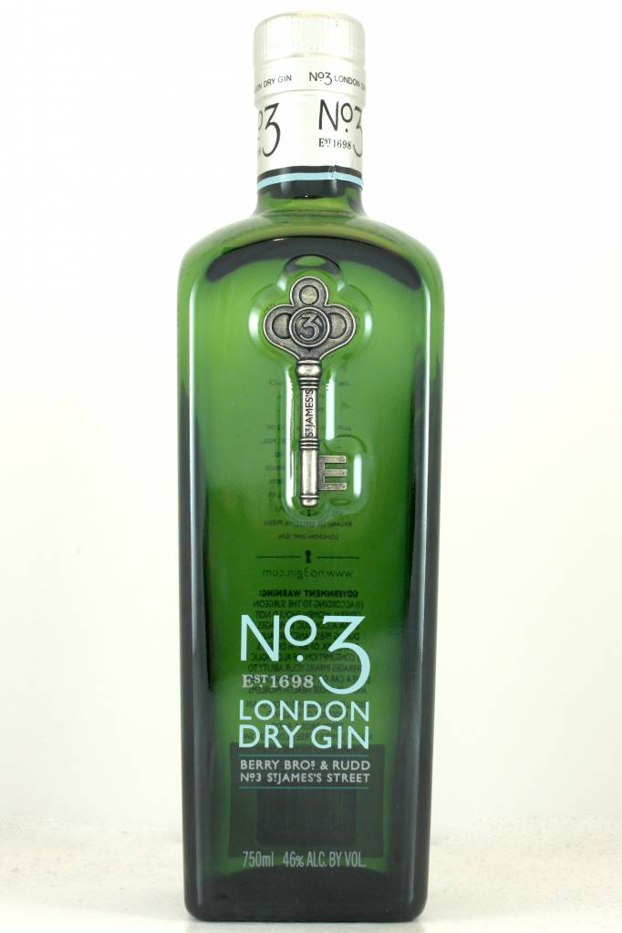 No. 3 London Dry Gin, Berry Bros & Rudd, Holland