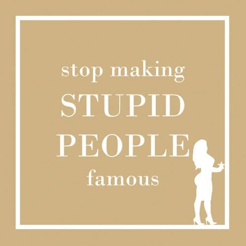 Napkin - PPD - Stupid People