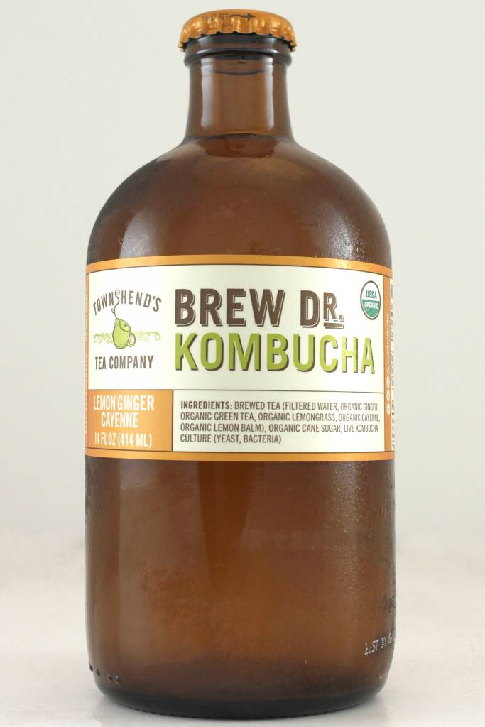 "Brew Dr. Kombucha ""Lemon Ginger Cayenne"", Portland, Oregon"