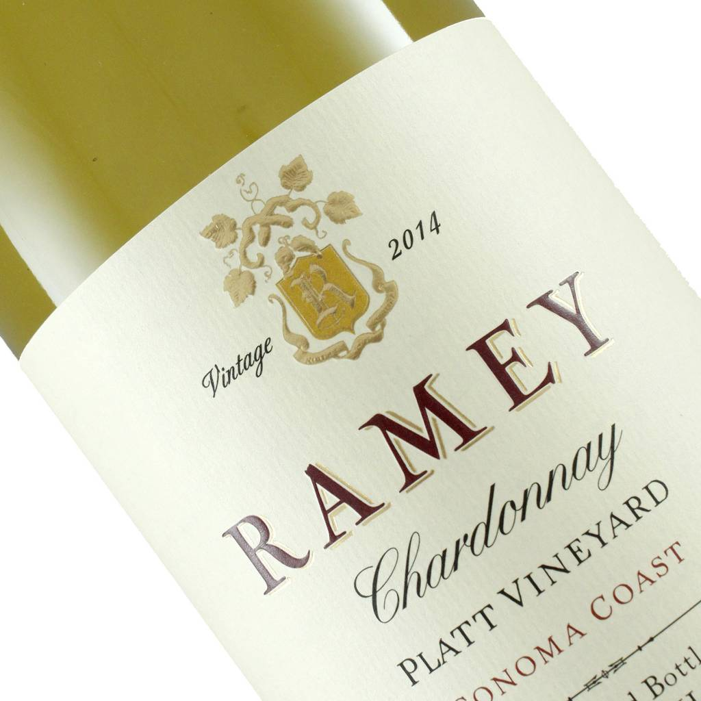 Ramey 2014 Chardonnay Platt Vineyard, Sonoma Coast