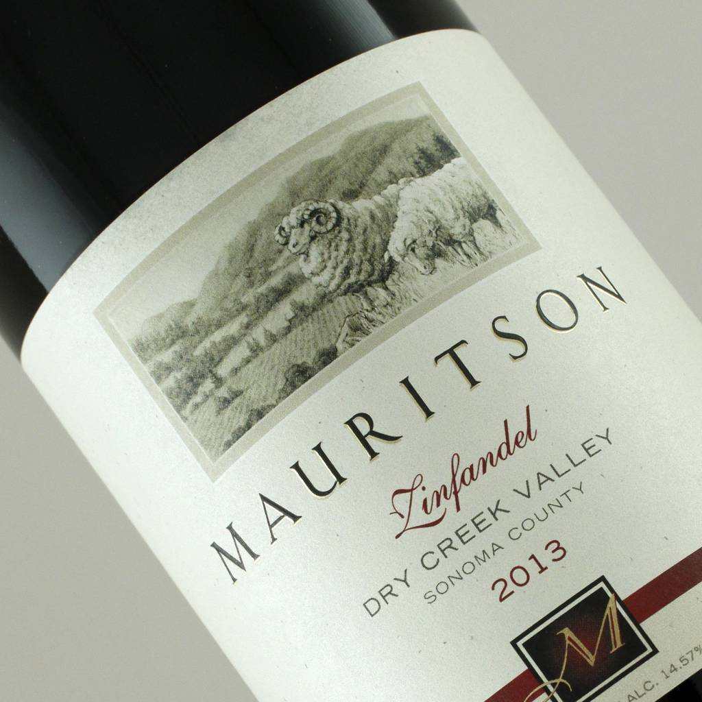 Mauritson 2013 Zinfandel, Dry Creek Valley