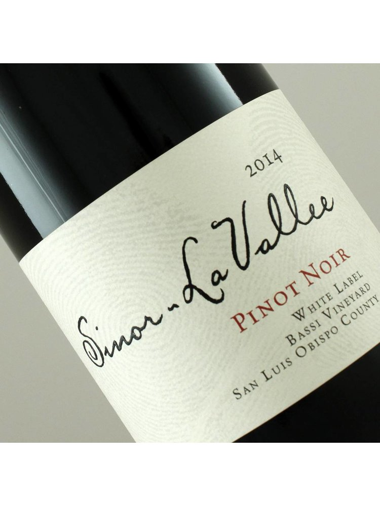 "Sinor-LaVallee 2014 ""White Label"" Pinot Noir, San Luis Obispo County"