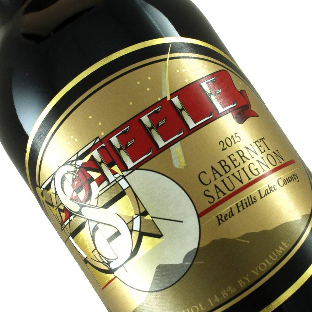 Steele 2015 Cabernet Sauvignon Red Hills, Lake County - Half Bottle