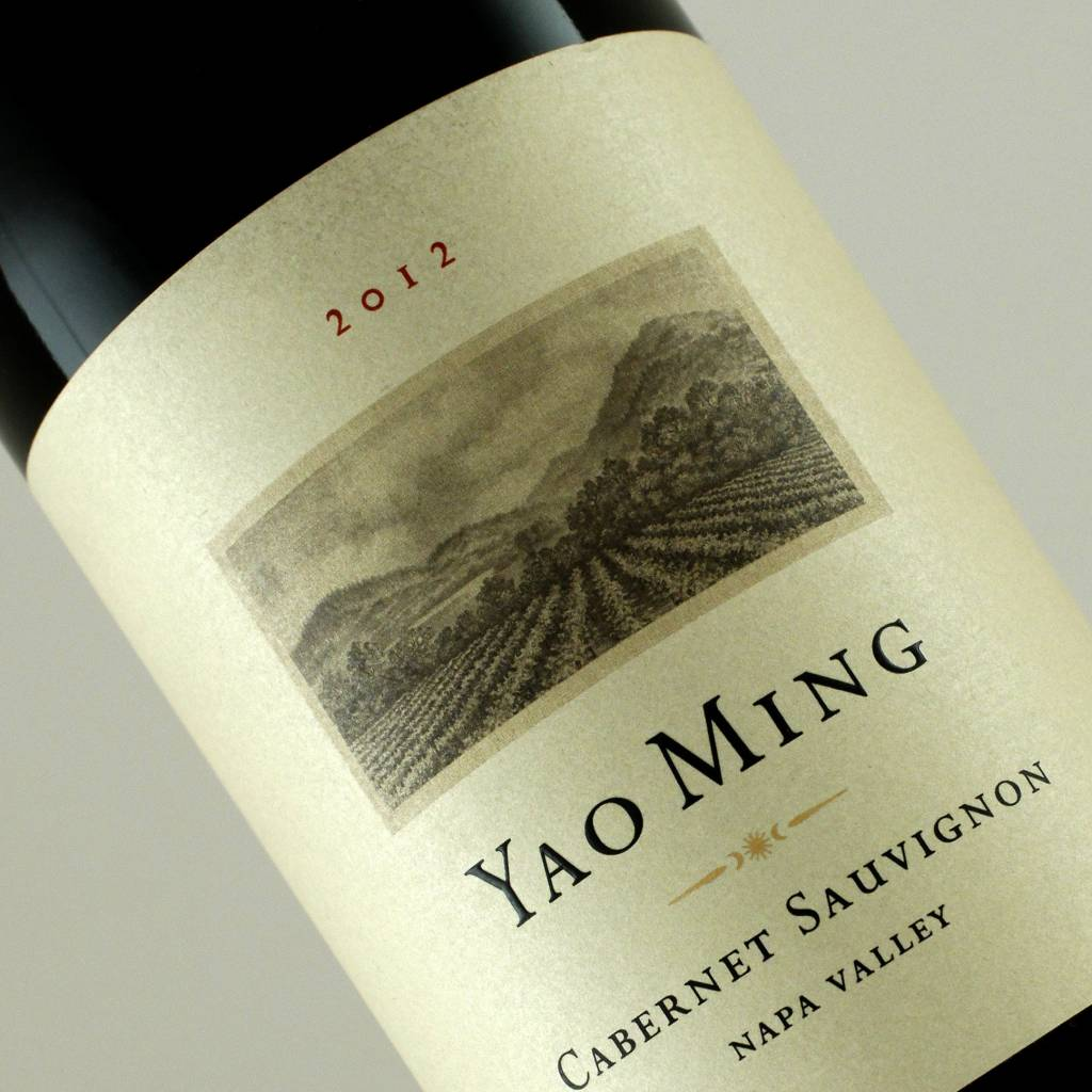 Yao Ming 2012 Cabernet Sauvignon, Napa Valley