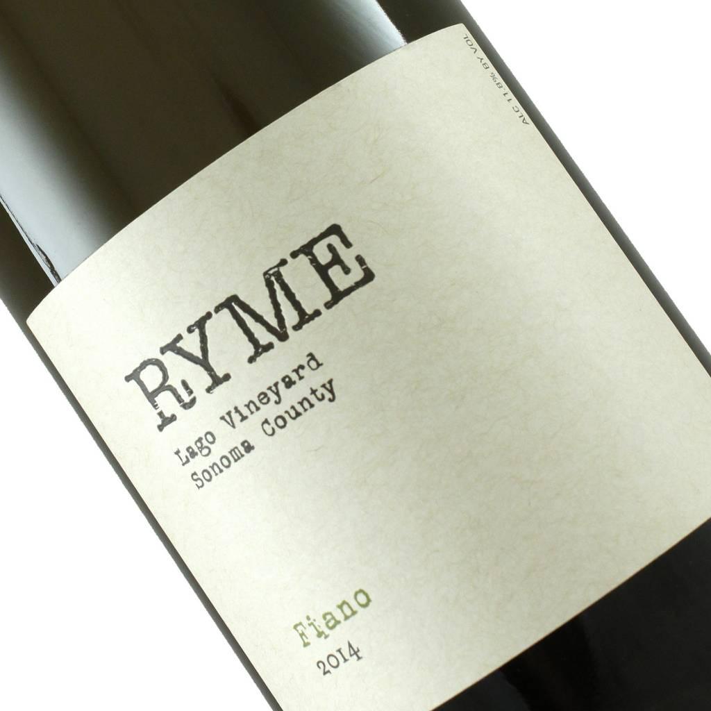 Ryme 2014 Fiano Lago Vineyard, Sonoma County