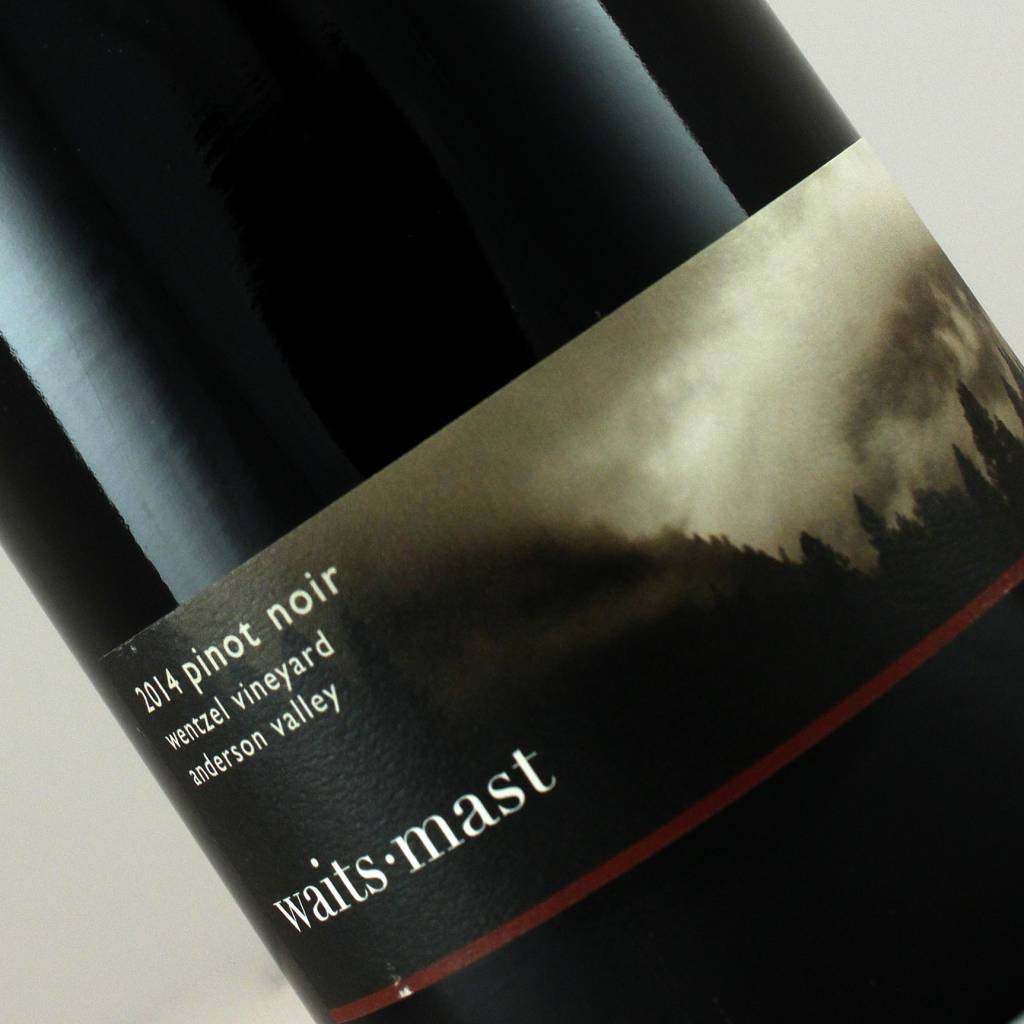 Waits-Mast 2014 Pinot Noir Wentzel Vineyard, Anderson Valley