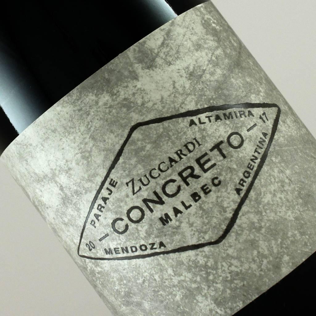 Zuccardi 2017 Concreto Malbec Mendoza Argentina