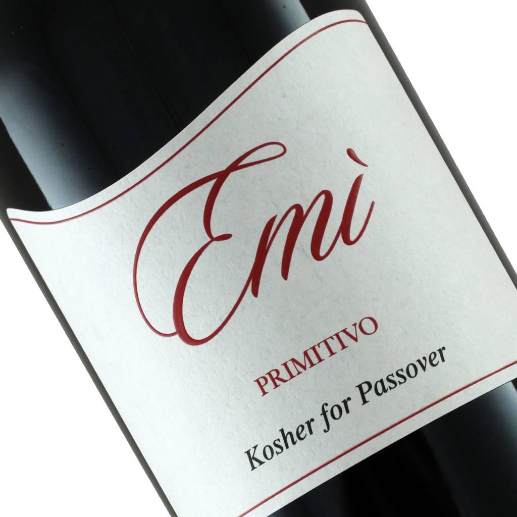"Chiaromonte 2014 Primitivo ""Emi"" Kosher Wine, Puglia Italy"