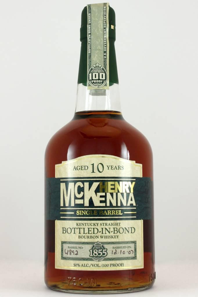 Henry McKenna Kentucky 10 Year Straight Bourbon Whiskey, Kentucky