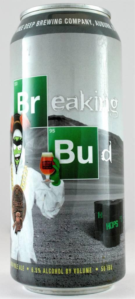 "Knee Deep Brewing ""Breaking Bud"" IPA, California - 16oz can"