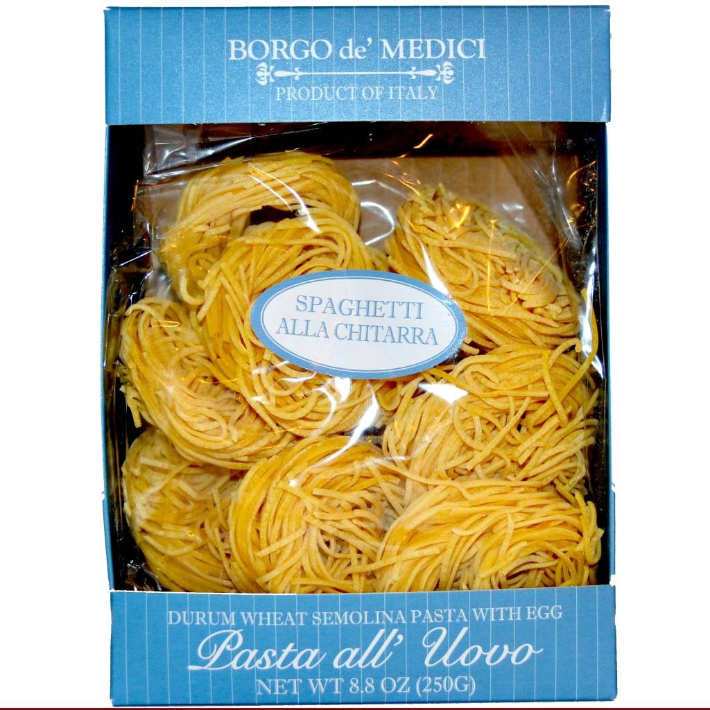 Borgo de' Medici Spaghetti All Chitarra Nests Egg Pasta, Italy