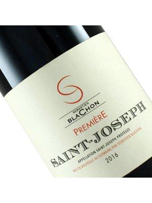 """Sebastien Blachon 2016 Saint Joseph """"Premiere Rouge"""", Rhone Valley, France"""
