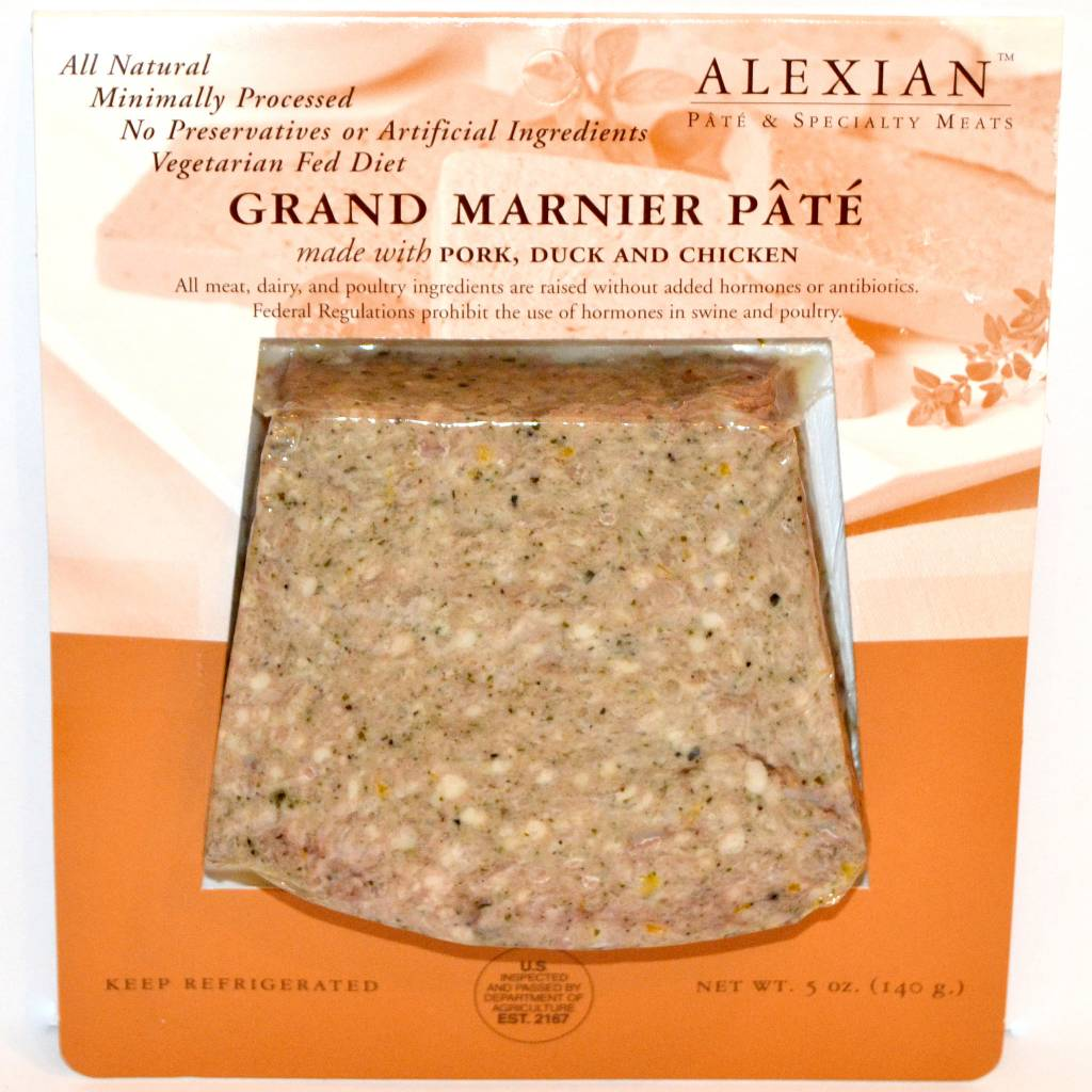 Alexian Pate--Grand Marnier Pate, Neptune, New Jersey