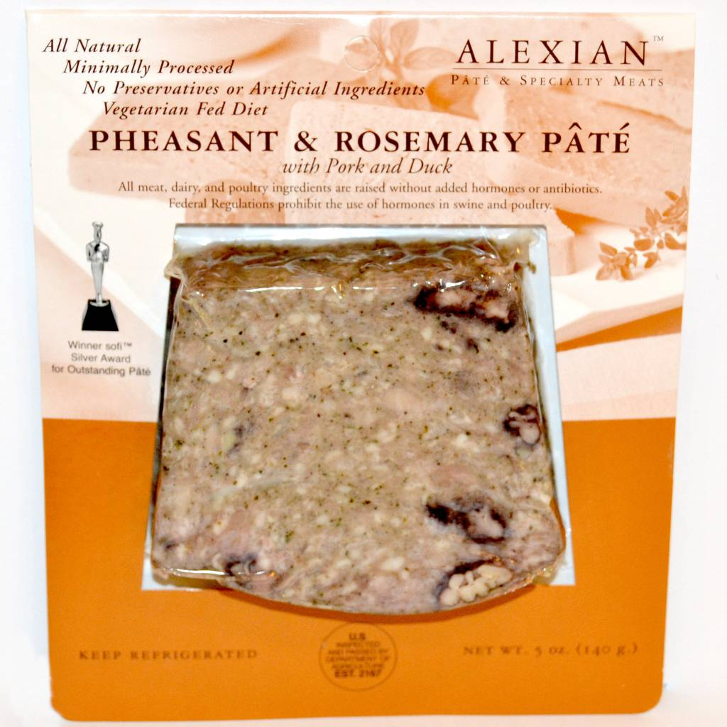 Alexian Pate--Pheasant & Rosemary, Neptune, New Jersey