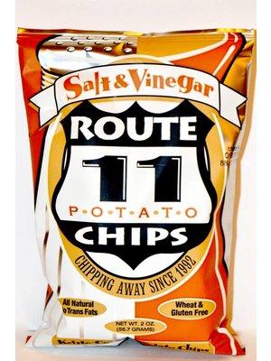 Route 11 Salt & Vinegar Potato Chips Small Bag