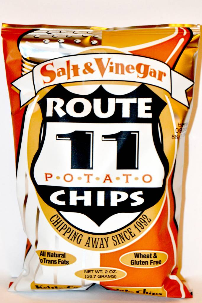 Route 11 Salt & Vinegar Potato Chips Small Bag