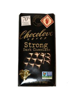 Chocolove 70% Strong Dark Chocolate Bar, Boulder