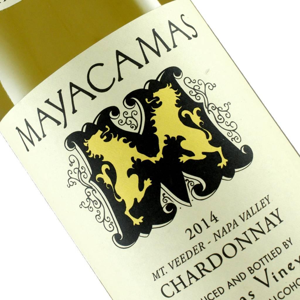 "Mayacamas 2014 Chardonnay ""125th Anniversary"" Mt. Veeder, Napa Valley, California"