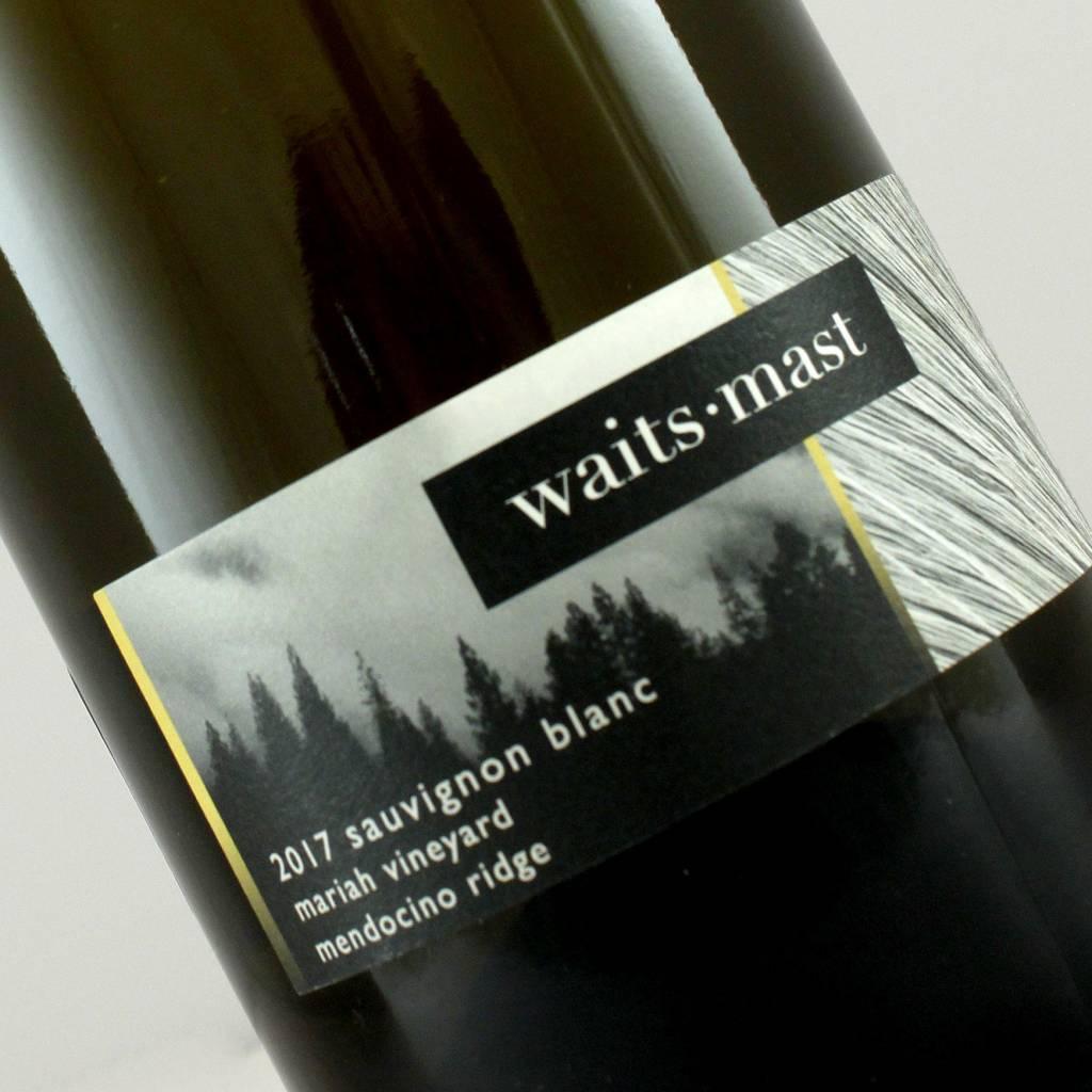 Waits-Mast 2017 Sauvignon Blanc Mariah Vineyard, Mendocino