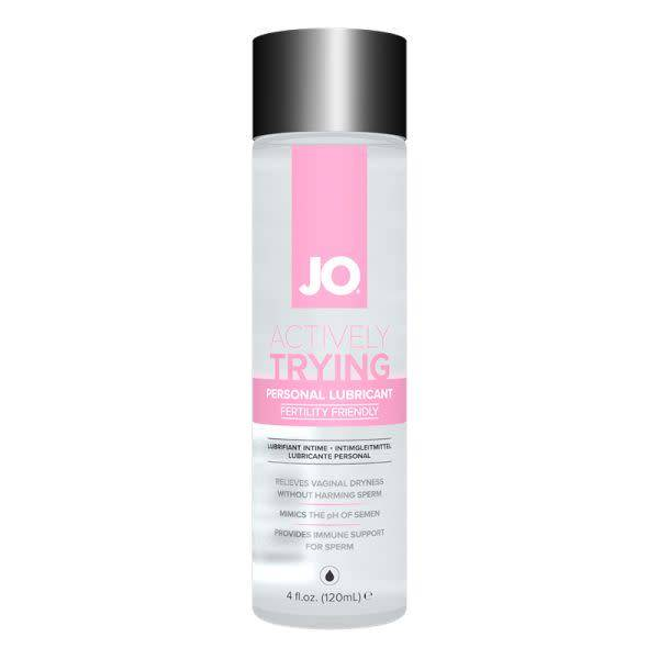 System JO JO Actively Trying (TTC) Lubricant 4 oz (120 ml)