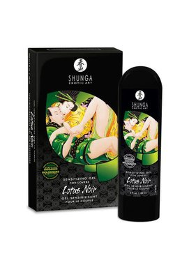 Shunga Lotus Noir Sensitizing Cream For Lovers 2 oz