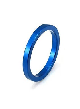 Premium Products Blue Aluminum Cock Ring