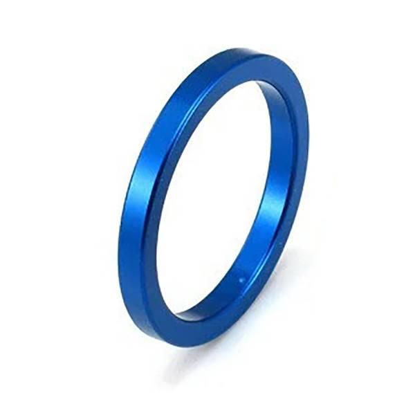 Premium Products Blue Aluminum Cock Ring
