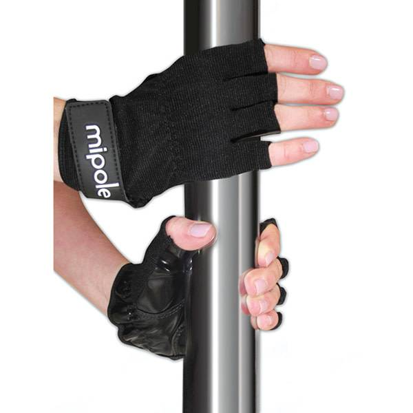 MiPole Dance MiPole Dance Pole Black Gloves (Pair)