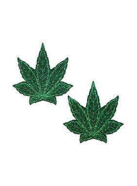 Pastease Brand Pastease Glitter Marijuana Leafs