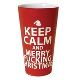 Kalan LP Keep Calm & Merry Fucking Christmas Drinking Cup