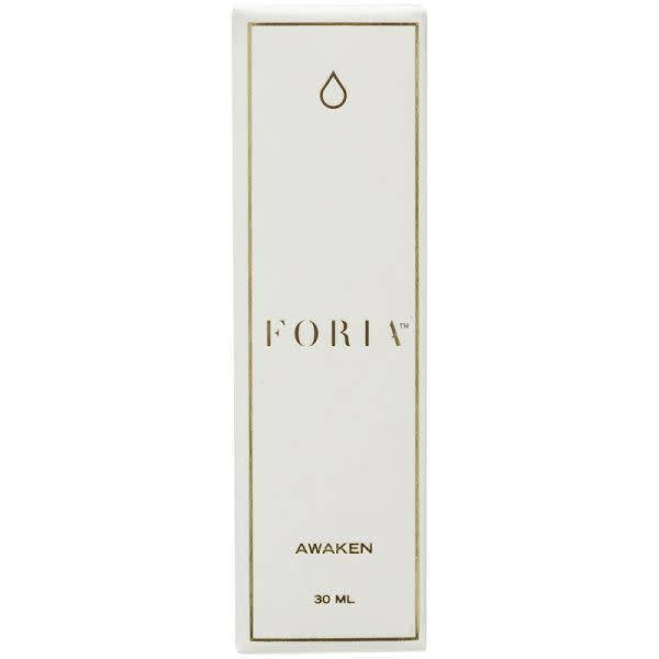 Foria Wellness Foria: Awake Arousal Oil with CBD & Kava 1 oz (30 ml)