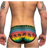 Andrew Christian Menswear Andrew Christian California Sunset Mesh Brief