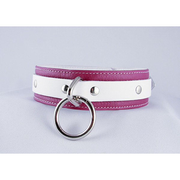 Aslan Leather Inc. Pink Candy Collar