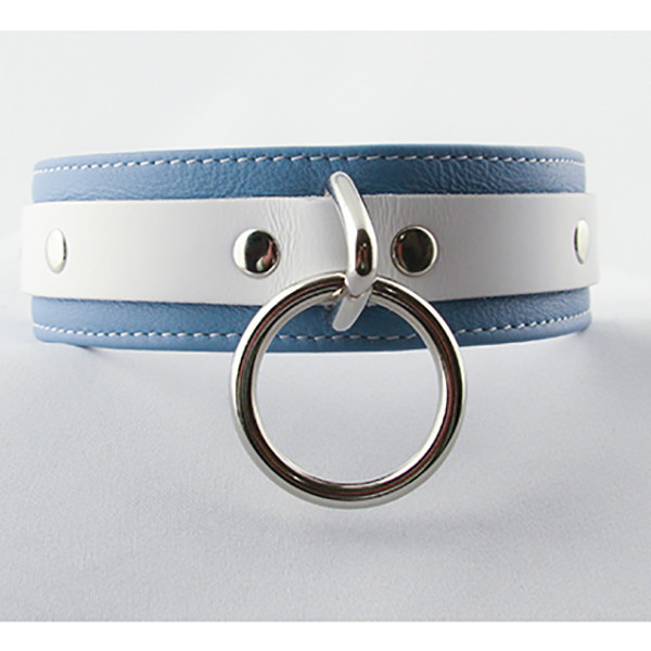 Aslan Leather Inc. Crystal Blue Collar