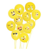 Premium Products Latex Goofy Faces Balloons (10 pcs)
