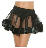Elegant Moments Lingerie Satin Petticoat (One Size)